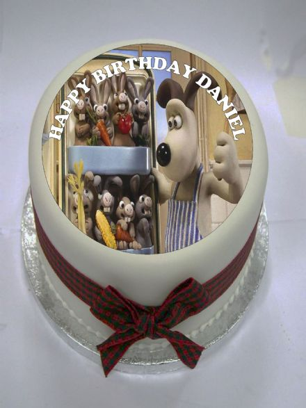 Gromit Edible Cake Topper